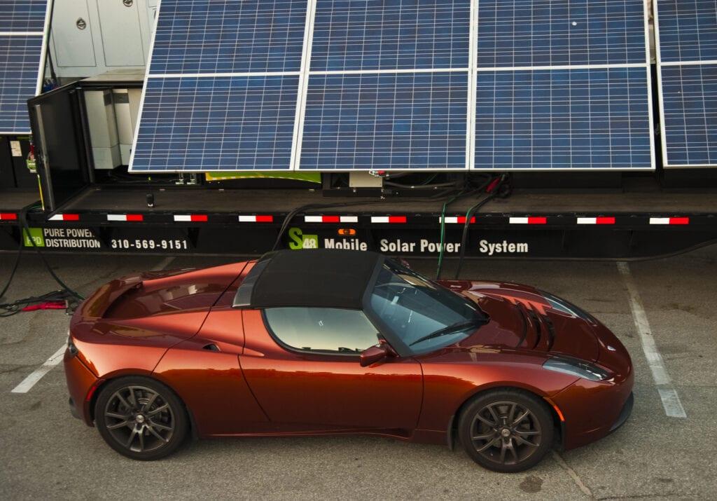 Moble Solar Array