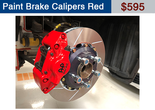 Red Calipers