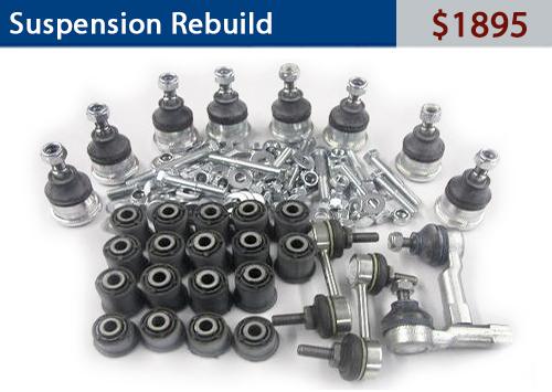 Suspension Rebuild-$