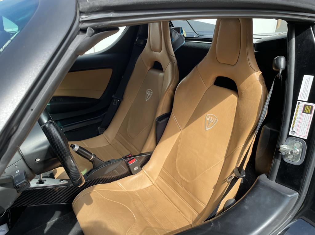 Black Tesla Roadster 6