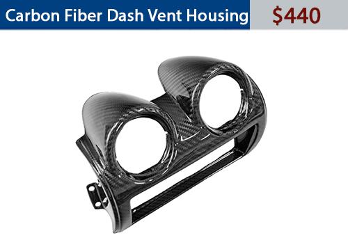 Carbon Fiber dash vent housing 440